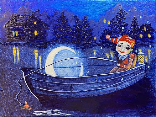 Moon fishing