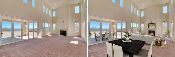 Virtual Staging example photo