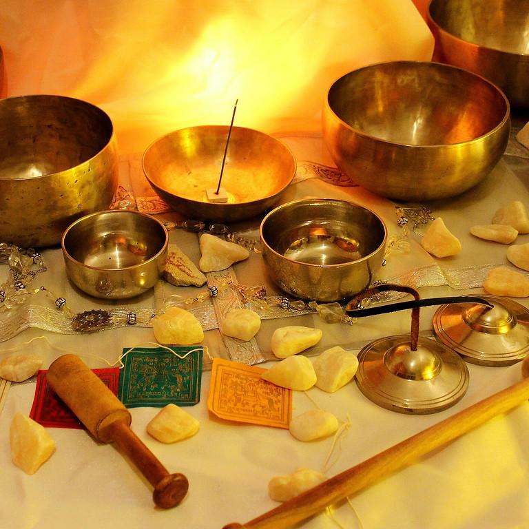 Klangschalenmeditation - Eine Reise auf den magischen Klängen und Schwingungen der tibetischen Klangschalen