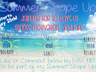Summer Shape Up