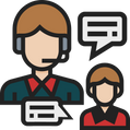 especialista web design chat online