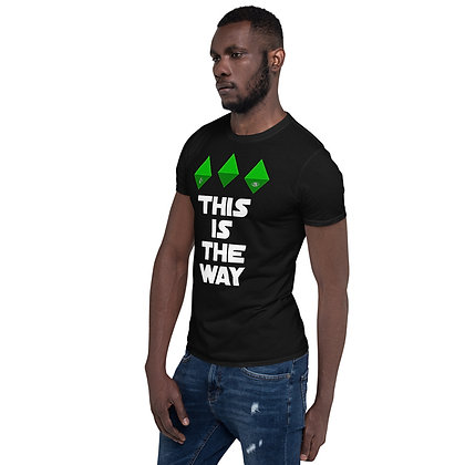 Blanks Are the Way - Short-Sleeve Unisex T-Shirt