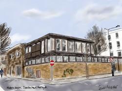 Modern house Murray St.Camden Mews