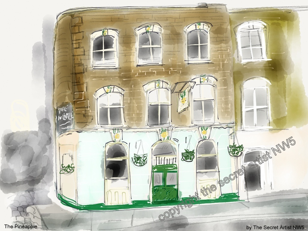 The Pineapple, Leverton Street