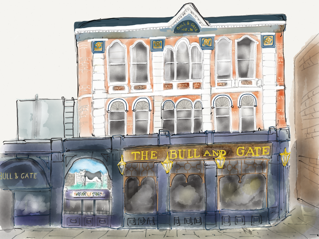 Bull & Gate, refurbished 2015