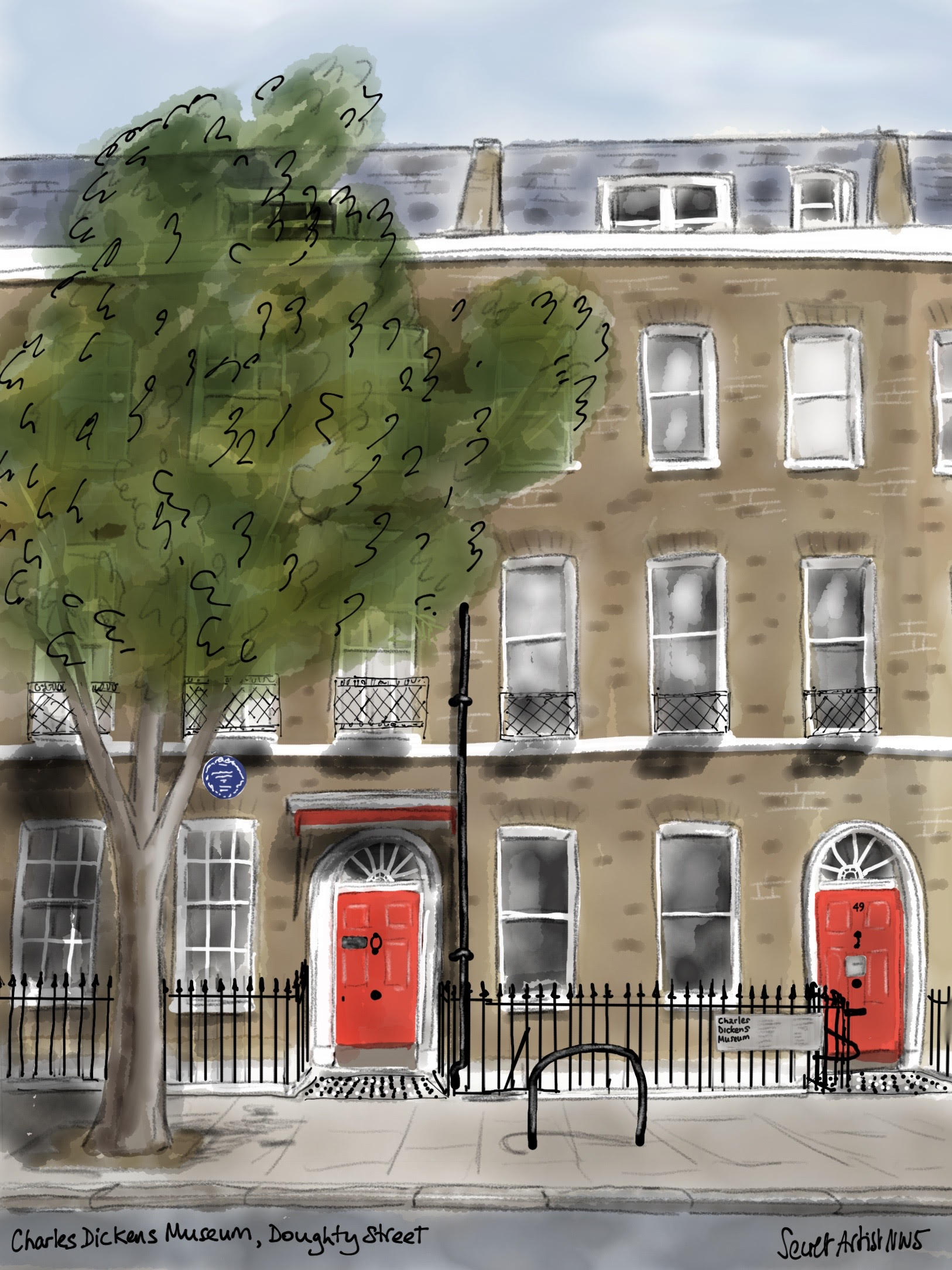 Charles Dickens house 2020