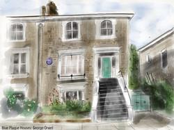 George Orwell's house, Lawford Rd.