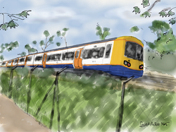 North London Line train