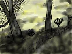 Primrose Hill at Dusk