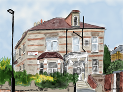 Dilapidated house, Corinne Road
