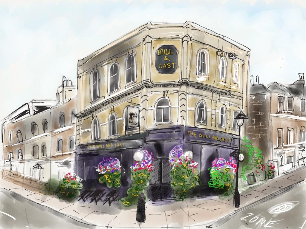 The Bull & Last, Highgate Road