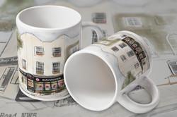 Map Studio Cafe Mugs