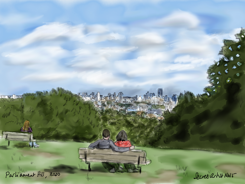 Parliament Hill, 2020