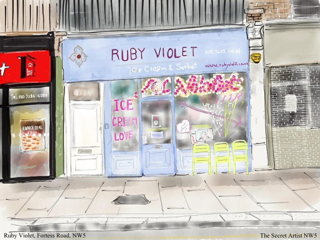 Ruby Violet, Fortess Road