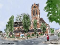 St Luke's, Oseney Crescent, 2021