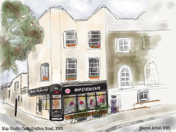 Map Studio Cafe, Grafton Road