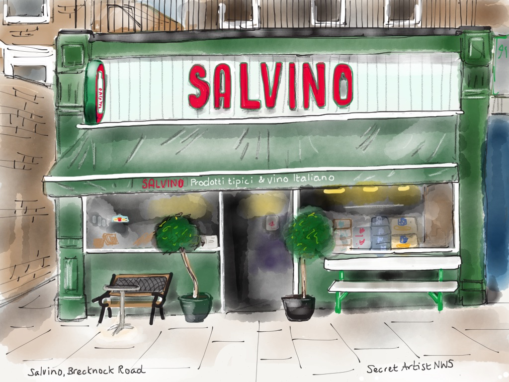 Salvino, Brecknock Road