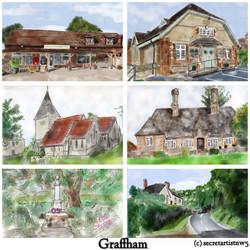 Graffham postcard