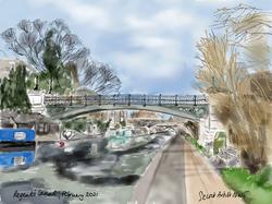 Regent's Canal, February 2021