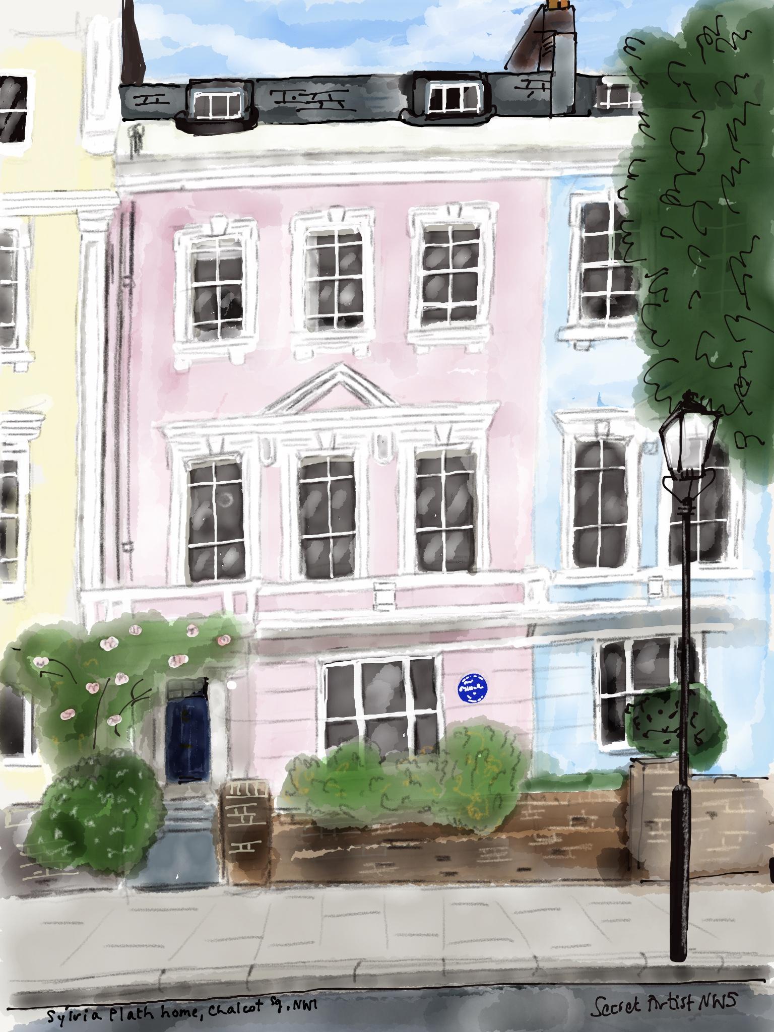Sylvia Plath house