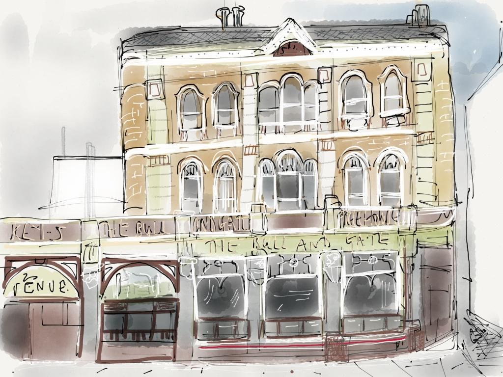 The Bull & Gate, Highgate Road