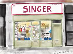 Singer shop