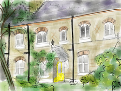 St Pancras Almshouses, S'hampton Rd