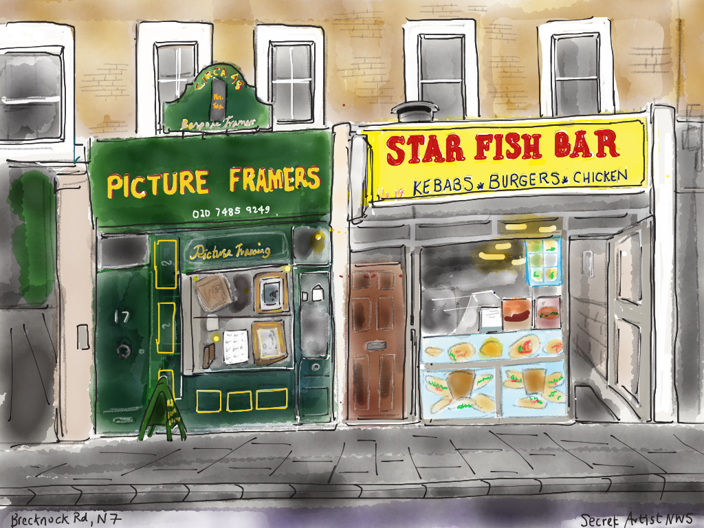 Picture framers & Star Fish Bar