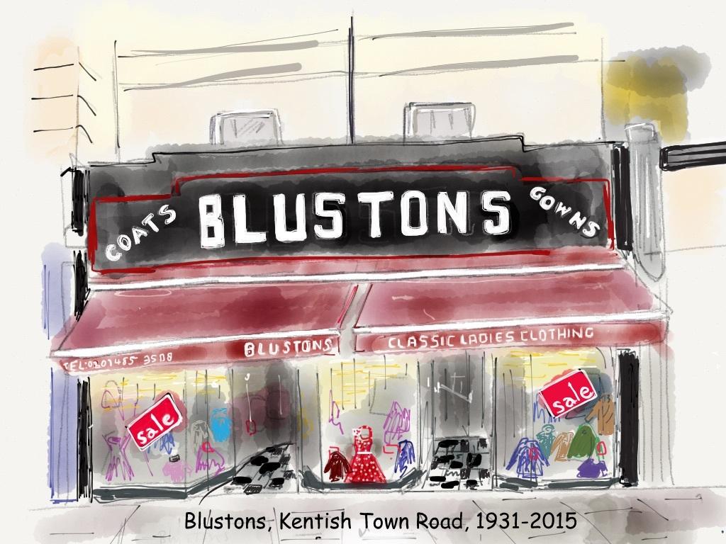 Blustons, Kentish Town Road