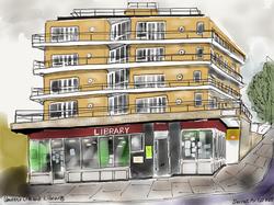 Queen's Crescent Library