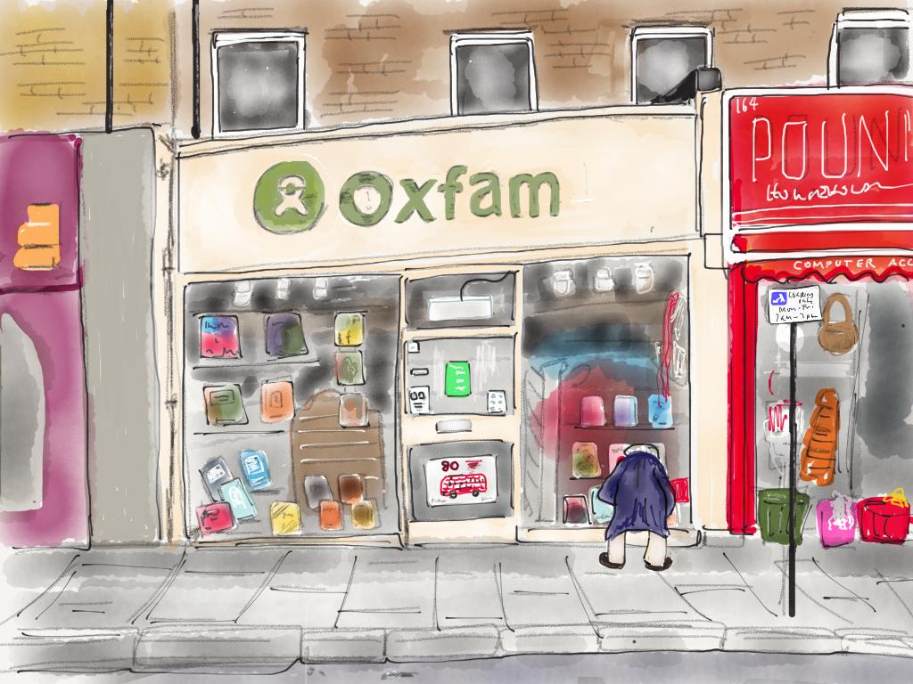 Oxfam, Kentish Town Road