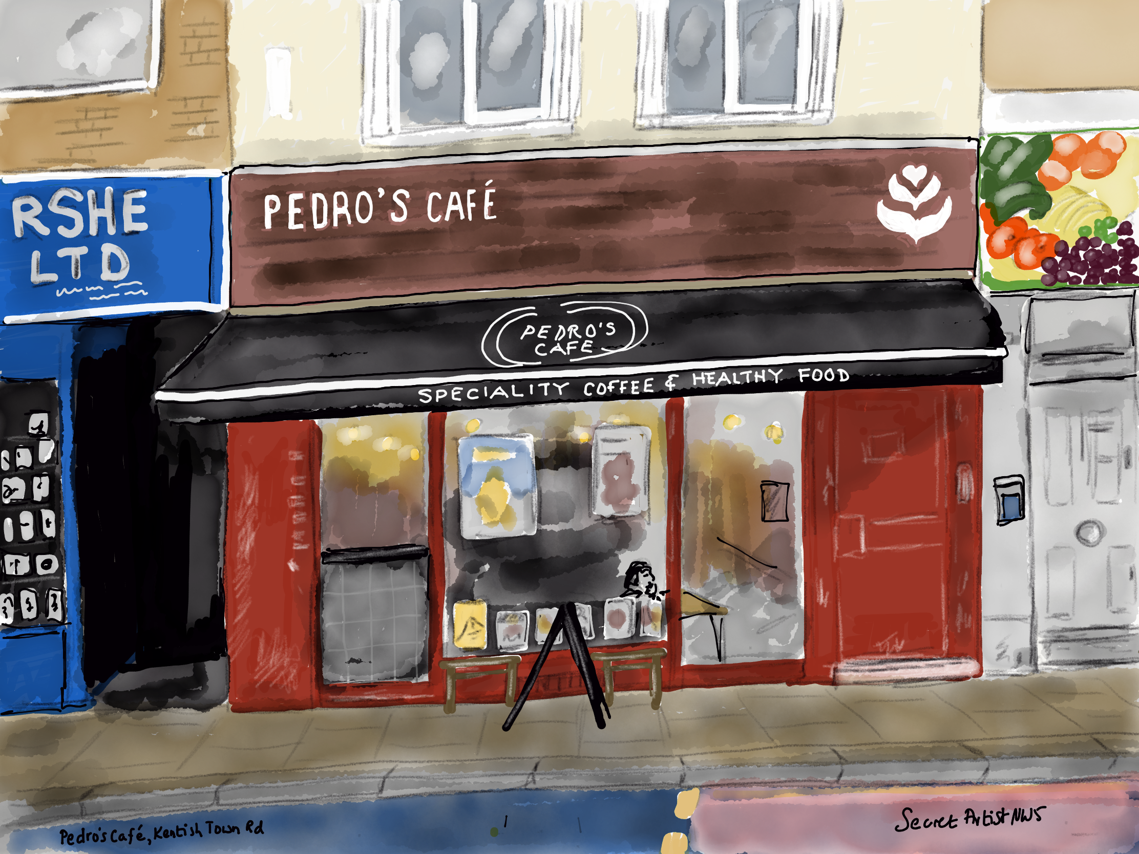 Pedro's Cafe new look