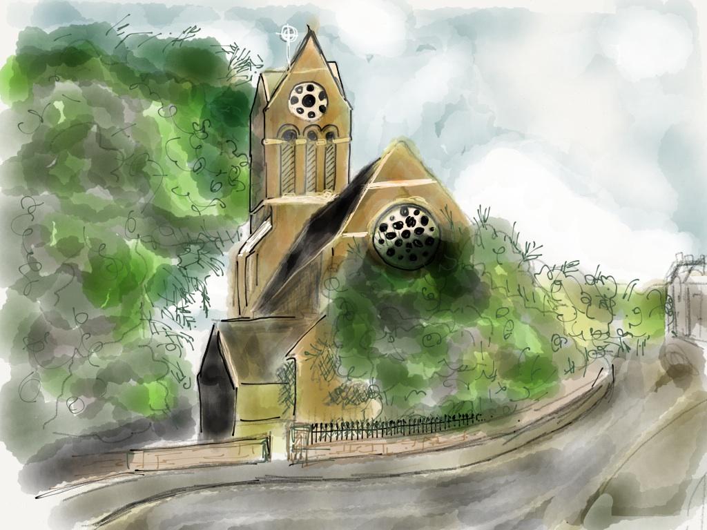 St Luke's, Osney Crescent