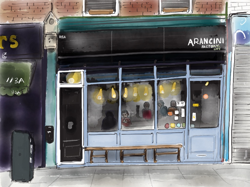 Arancini Factory Cafe