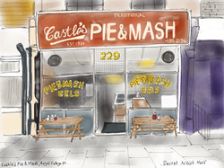 Castle's Pie and Mash, Royal College