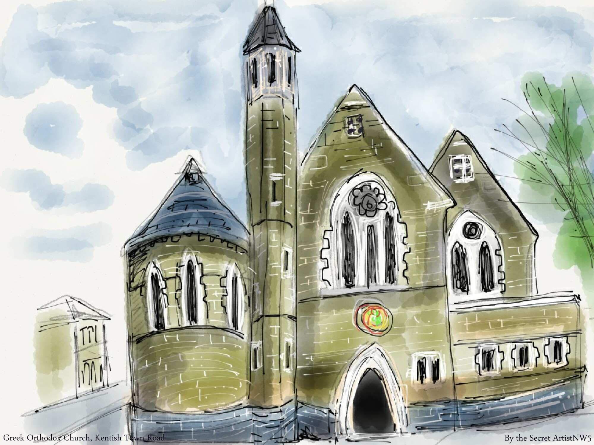 Greek Orthodox Church, Kentish Town
