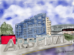 Arsenal Stadium from Drayton Park