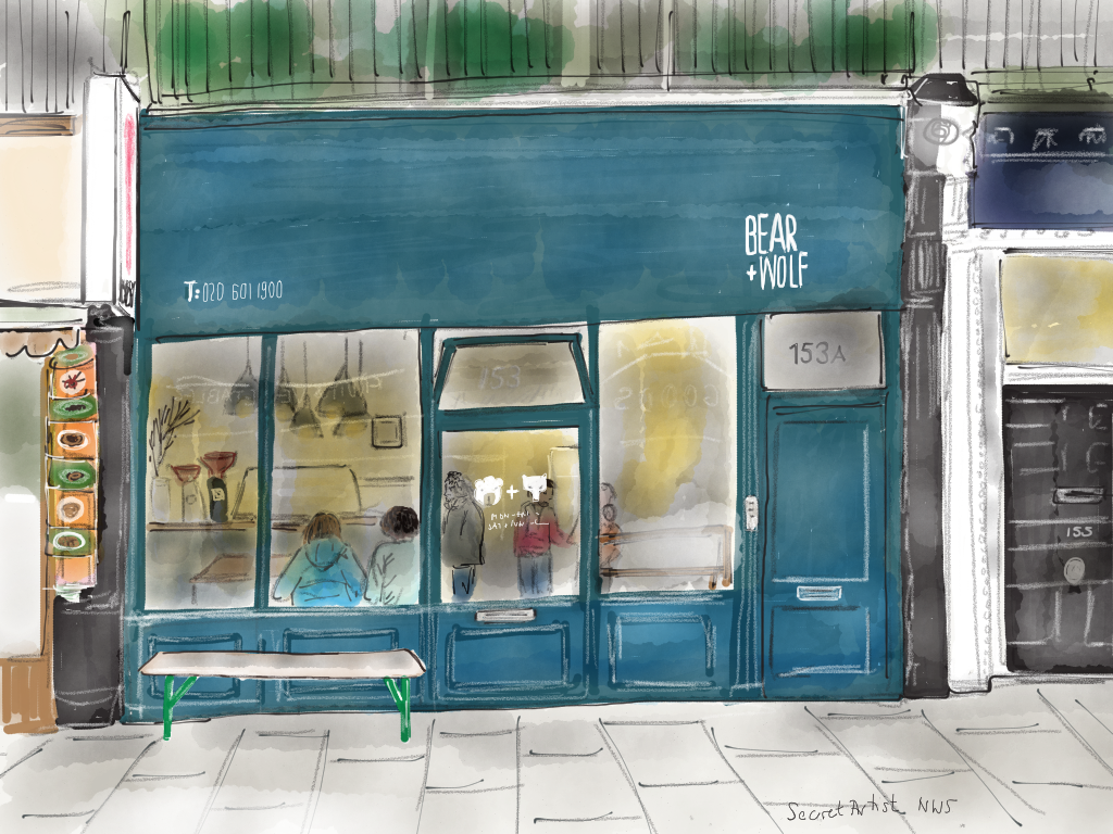 Bear and Wolf, Fortess Road