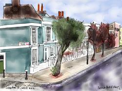Leverton Street, west side