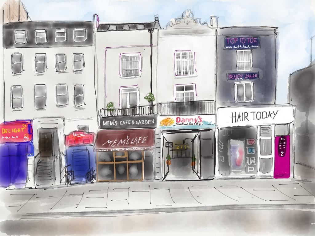 Top of Kentish Town Road