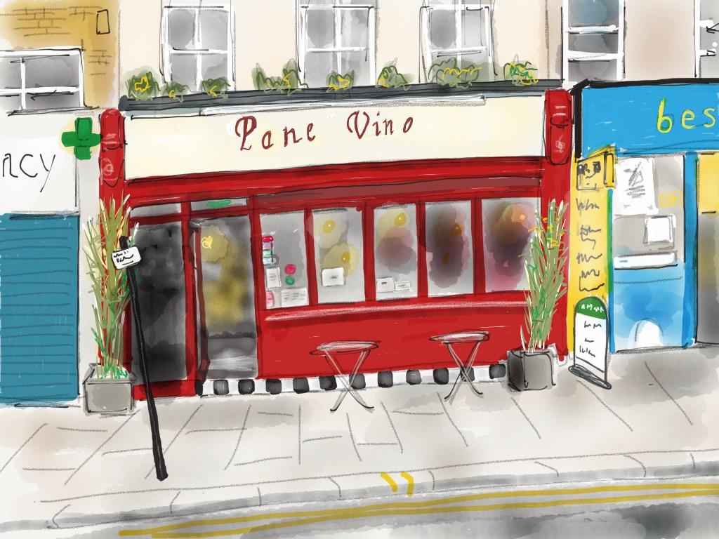 Pane Vino, Kentish Town Road