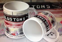 Secret Artist Bluston Mugs