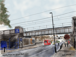 Railway bridge over Highgate Road