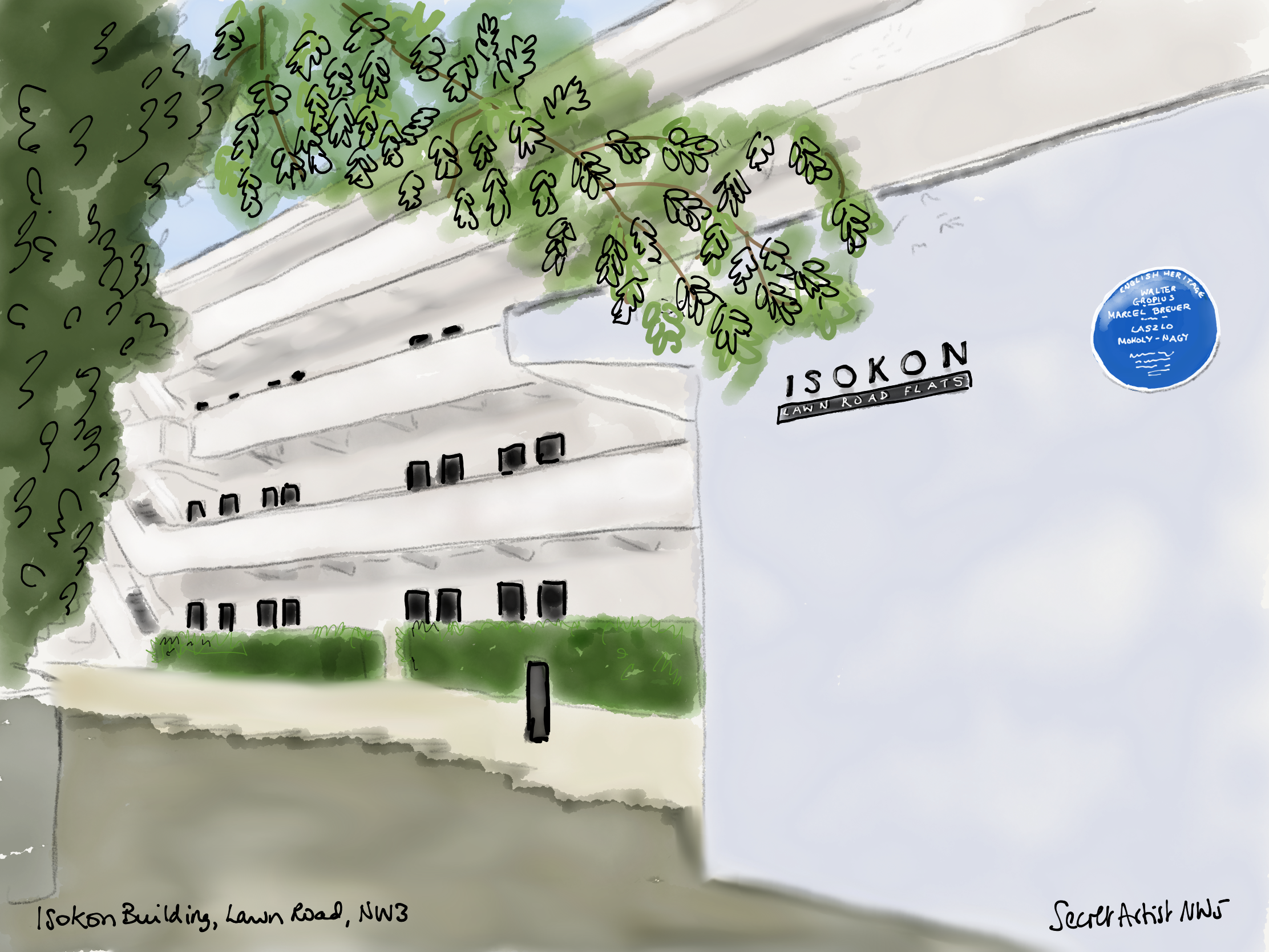 The Isokon Building (3)