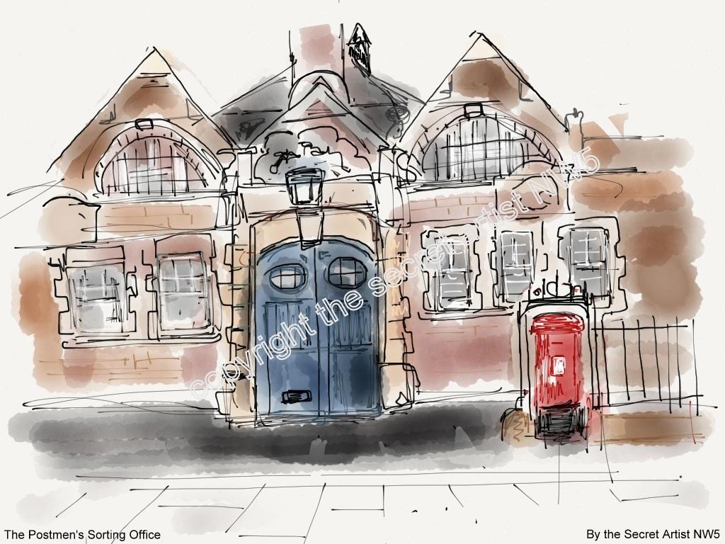 Postmen's Sorting Office, LeightonRd