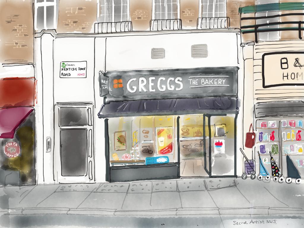Greggs, Kentish Town Road