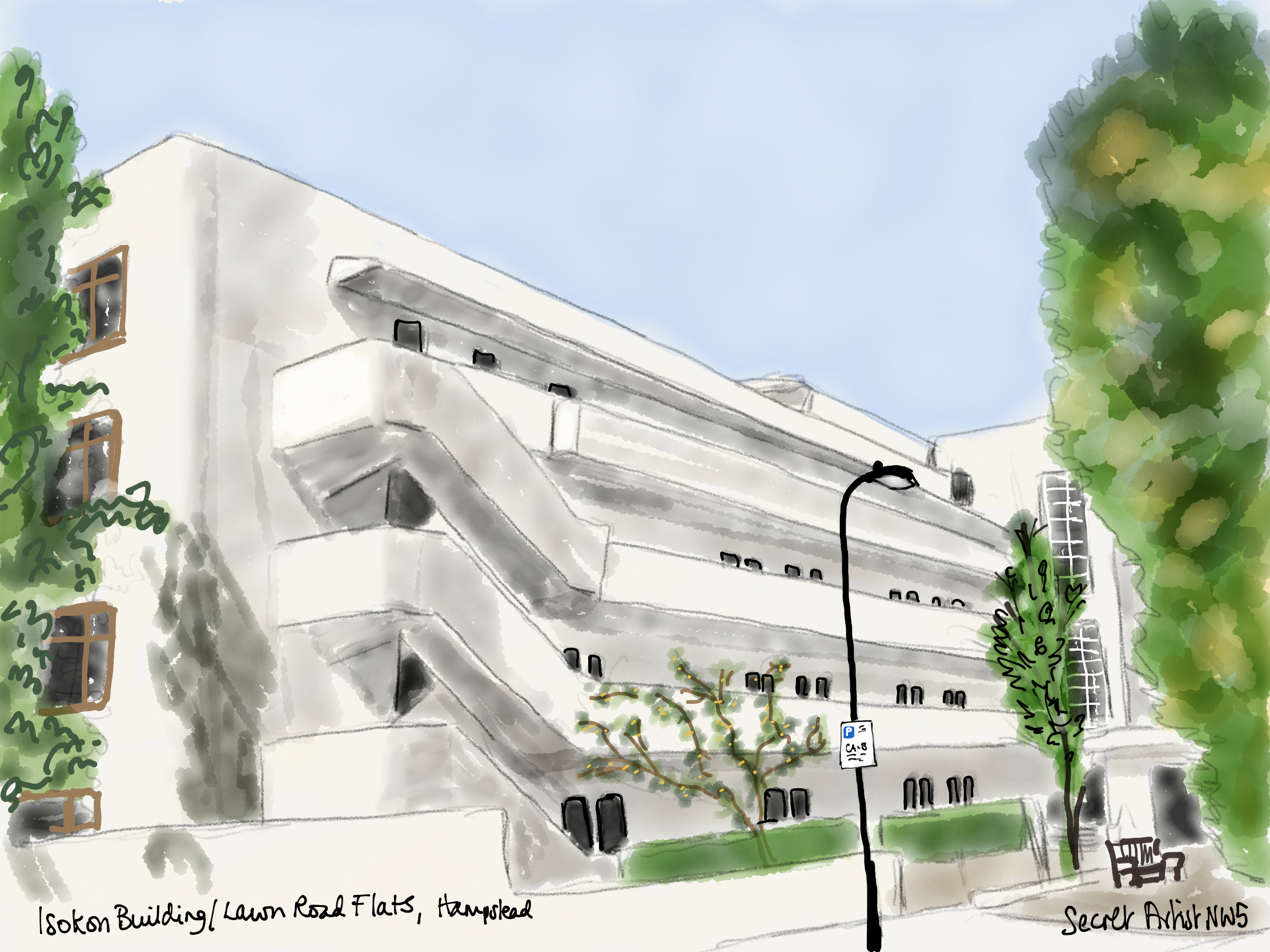 The Isokon Building (2)