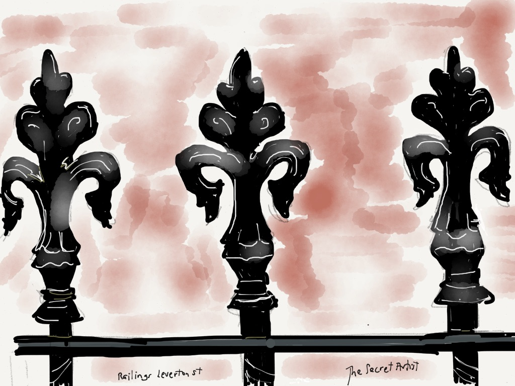 Leverton Street railings