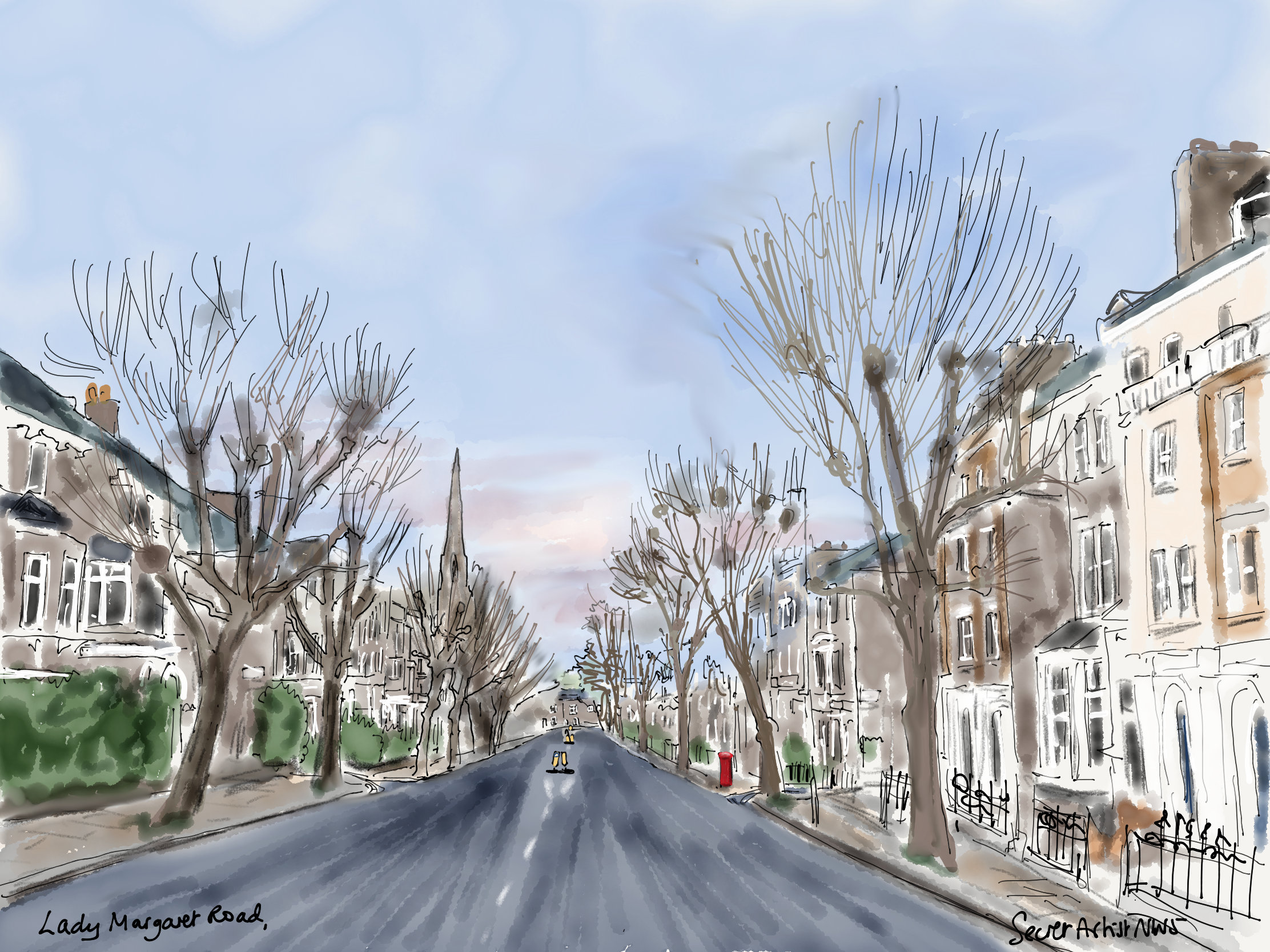 Lady Margaret Road, Dec 2020