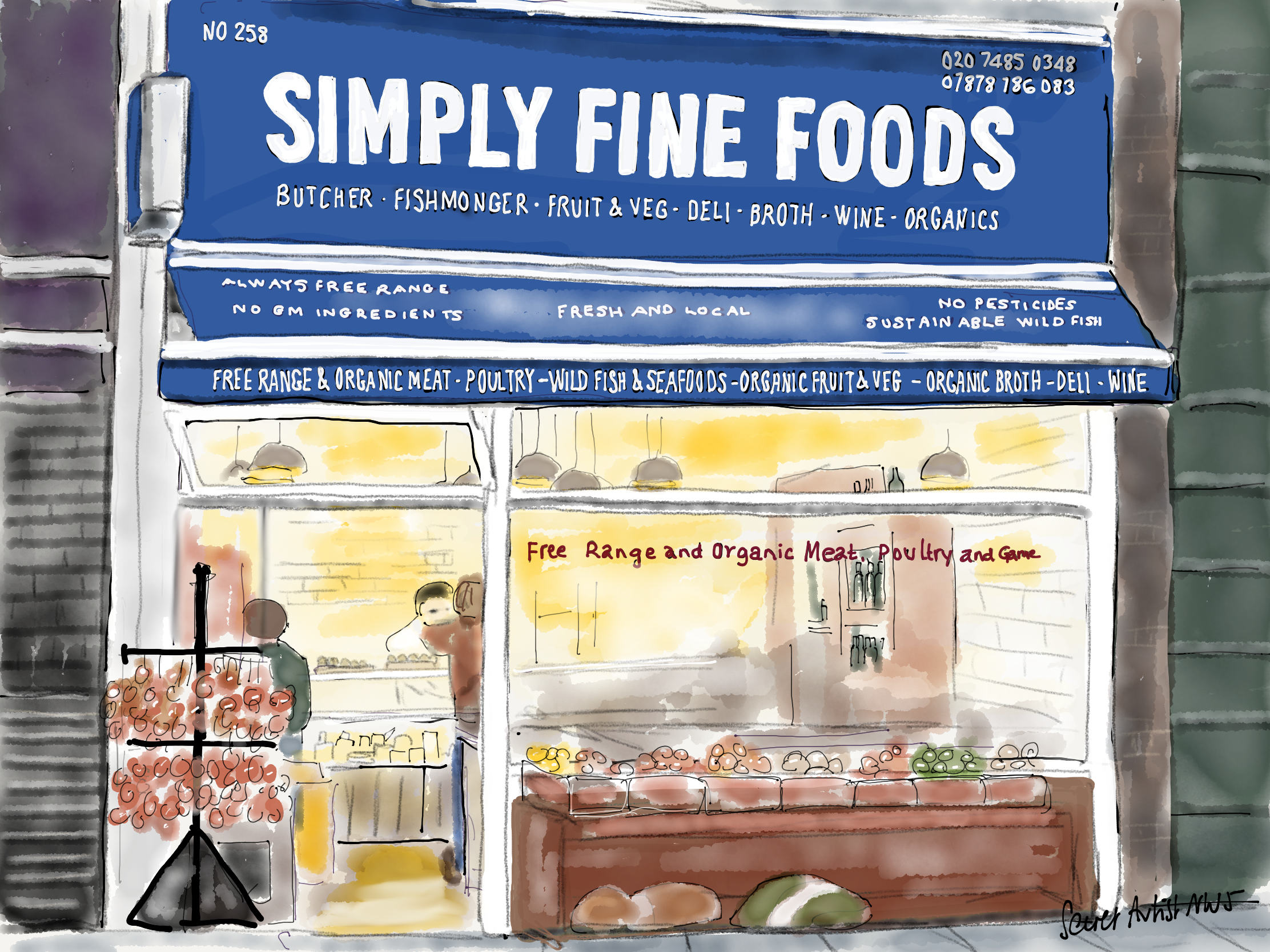 Simply Fine Foods